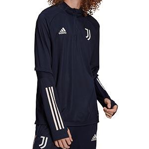 Sudadera adidas Juventus entreno 2020 2021 - Sudadera de entrenamiento de la Juventus 2020 2021 - azul marino - miniatura