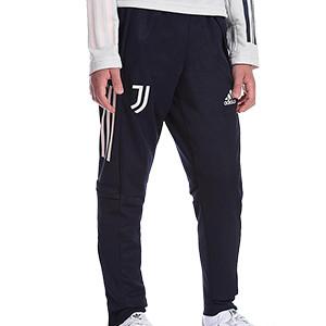 Pantalón adidas Juventus entreno niño 2020 2021 - Pantalón largo infantil entrenamiento adidas Juventus 2020 2021 - azul marino - frontal