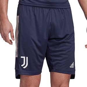 Short adidas Juventus entreno 2020 2021 - Pantalón corto de entrenamiento adidas de la Juventus 2020 2021 - azul marino - frontal