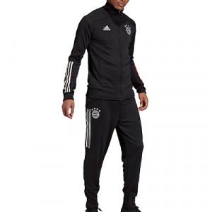 Chándal adidas Bayern 2020 2021 - Chándal adidas del Bayern de Munich 2020 2021 - negro - frontal