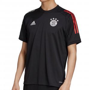 Camiseta adidas Bayern entreno 2020 2021 - Camiseta de entrenamiento del Bayern de Munich 2020 2021 - negra - frontal