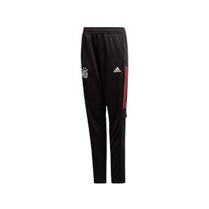 Pantalón adidas Bayern entreno niño 2020 2021 - Pantalón largo de entrenamiento infantil adidas Bayern Munich 2020 2021 - negro - miniatura