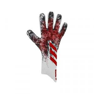 adidas Predator Pro Manuel Neuer - Guantes de portero profesionales adidas de Manuel Neuer - blancos y rojos - frontal derecho