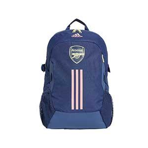Mochila adidas Arsenal - Mochila de deporte adidas del Arsenal FC 2020 2021 - azul marino - frontal