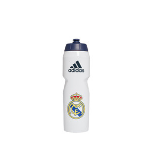 Botellín adidas Real Madrid - Botellín adidas 0,75L Real Madrid CF 2020 2021 - blanco - frontal