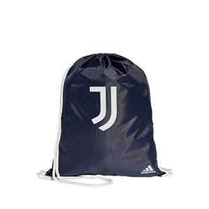 Gymbag adidas Juventus - Mochila de cuerdas adidas de la Juventus 2020 2021 - azul marino - frontal