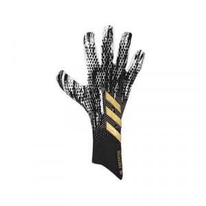 adidas Predator Pro - Guantes de portero profesionales adidas corte negativo - negros y blancos - frontal derecho