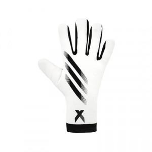 adidas X Training J - Guantes de portero infantiles adidas corte negativo - blancos - frontal derecho