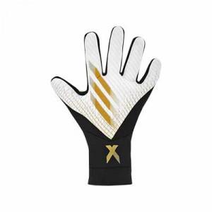 adidas X League - Guantes de portero adidas corte negativo - blancos - frontal derecho