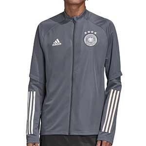 Chaqueta adidas entreno Alemania 2020 2021 - Chaqueta entrenamiento de la selección alemana 2020 2021 - gris - frontal