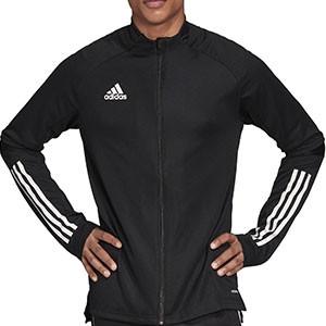 Chaqueta adidas Condivo 20 - Chaqueta de entrenamiento de fútbol adidas - negra - frontal