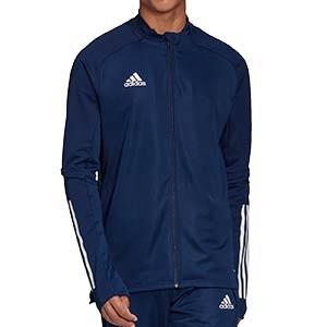 Chaqueta adidas Condivo 20 - Chaqueta de entrenamiento de fútbol adidas - azul marino - frontal