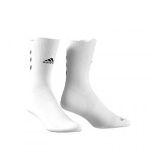 Calcetines media caña adidas Alphaskin Crew Ultralight - Calcetines de entrenamiento adidas media caña - blancos - frontal