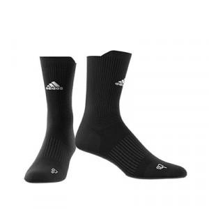 Calcetines media caña adidas Alphaskin Crew Ultralight - Calcetines de entrenamiento adidas media caña - negros - frontal