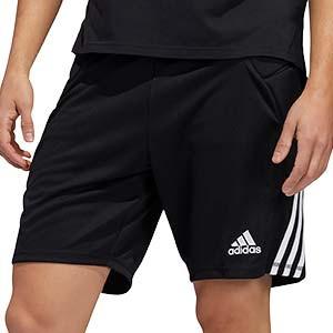 Short portero adidas Tierro GK - Pantalón corto de portero adidas - negro - frontal