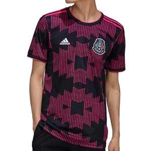 Camiseta adidas México 2021 - Camiseta primera equipación adidas selección mexicana 2021 - negra - frontal