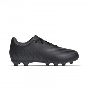 adidas X GHOSTED.4 FxG J - Botas de fútbol infantiles adidas FxG para múltiples terrenos - negras - pie derecho