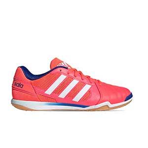 adidas Top Sala - Zapatillas de fútbol sala adidas suela lisa - rosa - pie derecho