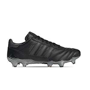 adidas Copa Mundial 21 FG - Botas de fútbol de piel de canguro adidas FG para césped natural o artificial de última generación - negras - pie derecho