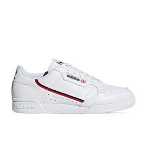 adidas Continental 80 - Zapatillas deportivas adidas para calle - blancas - pie derecho