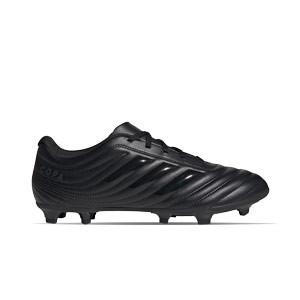 adidas Copa 20.4 FG - Botas de fútbol adidas FG para césped natural o artificial de última generación - negras - pie derecho