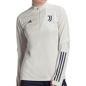 Sudadera adidas Juventus entreno mujer 2020 2021 - Sudadera de entrenamiento de mujer de la Juventus 2020 2021 - gris - miniatura