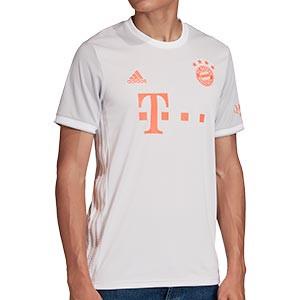 Camiseta adidas Bayern 2a 2020 2021 - Camiseta segunda equipación adidas Bayern de Múnich 2020 2021 - gris - miniatura