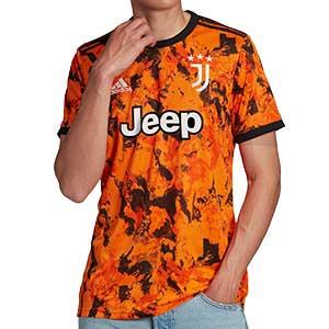 Camiseta adidas 3a Juventus 2020 2021 - Camiseta tercera equipación adidas Juventus 2020 2021 - naranja - frontal