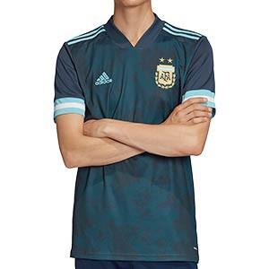 Camiseta adidas 2a Argentina 2020 - Camiseta segunda equipación selección Argentina 2020 - azul verdoso - miniatura