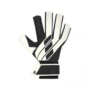 adidas Tiro League J - Guantes de portero para niño adidas corte negativo - blancos y negros - frontal derecho
