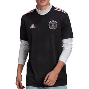Camiseta adidas 2a Inter Miami 2021 - Camiseta segunda equipación adidas del Inter de Miami 2021 - negra - frontal