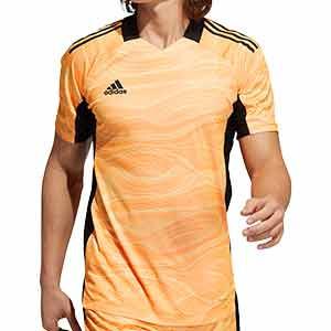 Camiseta adidas Condivo GK 21 - Camiseta de portero de manga corta adidas - naranja - frontal