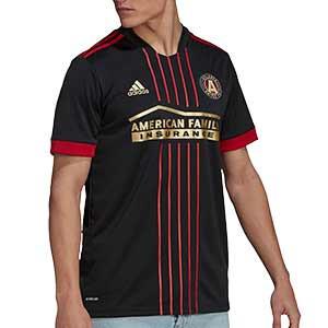 Camiseta adidas Atlanta United FC 2021 - Camiseta primera equipación adidas del Atlanta United FC 2021 - negra - frontal