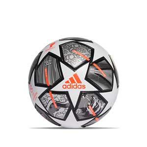 Balón adidas Finale UCL Istambul 2021 League talla 5 - Balón de fútbol adidas de la Final de la Champions de Estambul en talla 5 - plateado - frontal