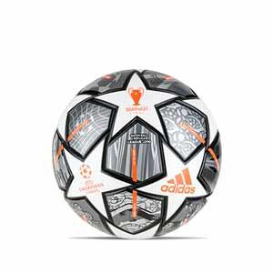 Balón adidas Finale UCL Istambul 2021 League J290 talla 5 - Balón de fútbol de peso reducido para niño adidas de la Final de la Champions League de Estambul 2021 talla 5 - plateado - frontal
