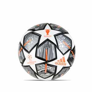 Balón adidas Finale UCL Istambul 2021 League J350 talla 5 - Balón de fútbol de peso reducido para niño adidas de la Final de la Champions League de Estambul 2021 talla 5 - plateado - frontal