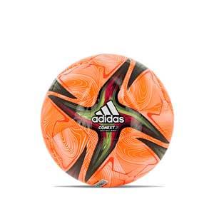 Balón adidas Conext 21 Pro Beach talla 5 - Balón profesional de fútbol playa adidas de talla 5 - naranja y rosa - frontal