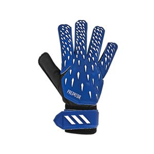 adidas Predator Training - Guantes de portero adidas corte positivo - azules - frontal derecho