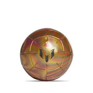 Balón adidas Messi Club talla 4 - Balón de fútbol adidas de la colección de Messi en talla 4 - dorado - frontal