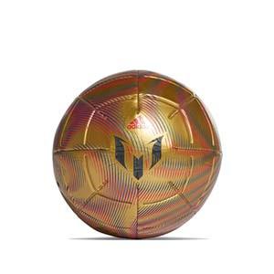 Balón adidas Messi Club talla 5 - Balón de fútbol adidas de la colección de Messi en talla 5 - dorado - frontal