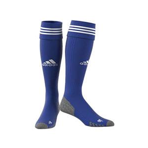 Medias adidas Adisock 21 - Medias de fútbol adidas - azules - frontal