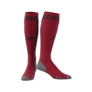 Medias adidas Adisock 21 - Medias de fútbol adidas - rojas - frontal
