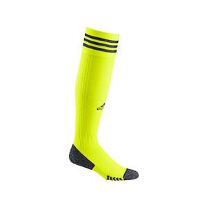 Medias adidas Adisock 21 - Medias de fútbol adidas - amarillas flúor - frontal