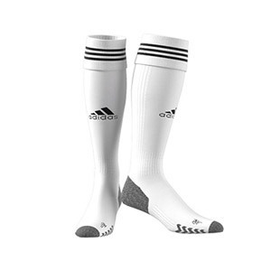 Medias adidas Adisock 21 - Medias de fútbol adidas - blancas - frontal