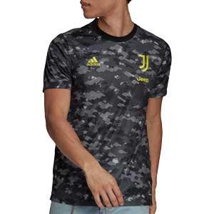 Camiseta adidas Juventus pre-match 2021 2022 - Camiseta de calentamiento adidas Juventus 2021 2022 - gris oscura - frontal