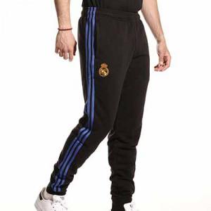Pantalón adidas Real Madrid entrenamiento - Pantalón largo de algodón entrenamiento adidas del Real Madrid CF - negro - miniatura frontal