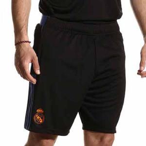 Short adidas Real Madrid entrenamiento - Pantalón corto entrenamiento adidas Real Madrid CF - negro - miniatura frontal