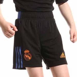 Short adidas Real Madrid niño entrenamiento - Pantalón corto entrenamiento infantil adidas Real Madrid CF - negro - miniatura