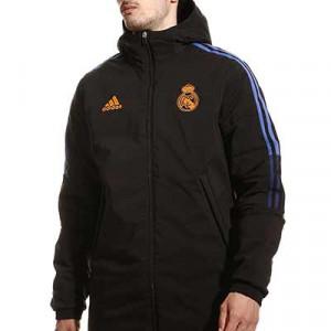 Chaqueta adidas Real Madrid Winter - Abrigo de invierno acolchado adidas del Real Madrid CF - negro - miniatura frontal