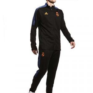 Chándal adidas Real Madrid entrenamiento - Chándal entrenamiento adidas del Real Madrid CF - negro - miniatura frontal
